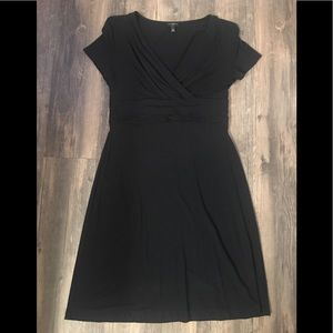 Talbots cute lil black dress cotton